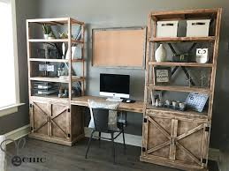 Diy Desk Hutch Your Own Diy Office Desk Out Of Your Own Boshdesigns