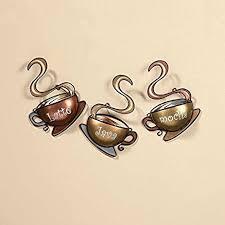 amazon com coffee house cup mug latte java mocha metal wall art