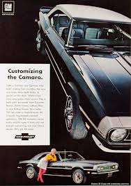 customize a camaro coolest chevrolet camaro ads of the 1960s chevys only