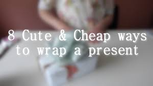 cheap gift wrap 8 cheap gift wrapping ideas 1 2