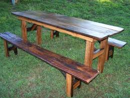 kitchen wonderful country style dining table with bench country