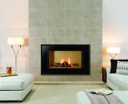 gas fireplace facade home design inspirations