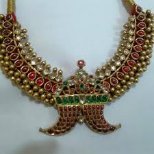 boutique designer jewellery antique kundan tussi necklace boutiquedesignerjewellery