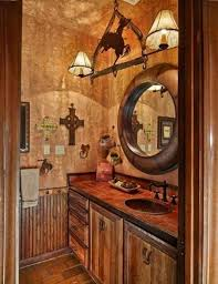 Western Bathroom Ideas Western Decor Bathroom Utrails Home Design Realizing Western