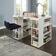south shore crea craft table interior counter height craft table walmart with storage tables desk
