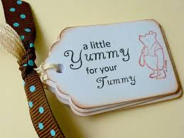 classic pooh for your tummy tags winnie the pooh vintage