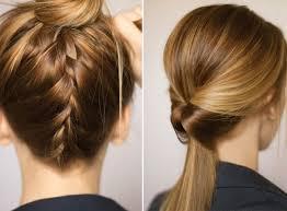 Einfache Hochsteckfrisurenen F Mittellange Haare by Einfache Hochsteckfrisuren Lange Haare Kurzhaarfrisuren Bilder