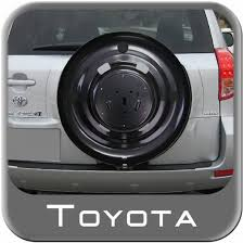 toyota rav4 spare tire 2004 2005 toyota rav4 spare tire cover mount from brandsport