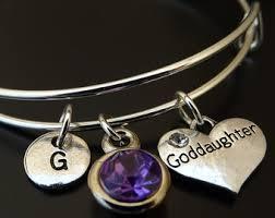 goddaughter charm bracelet goddaughter gift wish bracelet goddaughter bracelet