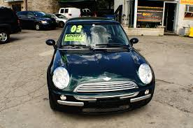 2003 mini cooper green used sport coupe sale