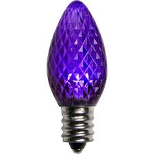 c7 purple led christmas light bulbs