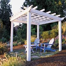 Pergola Post Design by How To Build A Backyard Pergola Sunset