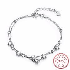 birthday charm bracelet 100 real silver bracelet girl birthday gifts silver with