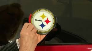 nfl motion activated light up decals nfl motion activated light up decals by lori greiner with lisa