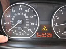 bmw dashboard symbols diy resetting service