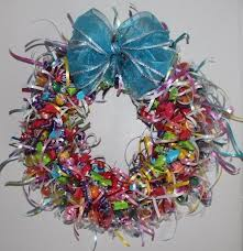best 25 candy wreath ideas on candy candy