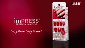 a gel nail breakthrough impress manicure u0027s no glue stay put