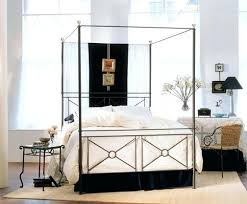 Wrought Iron Canopy Bed Iron Canopy Bed Metal Canopy Bed Ianwalksamerica