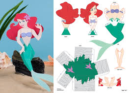 free disney princess paper doll printables