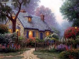 162 best thomas kincade wallpapers images on pinterest paintings