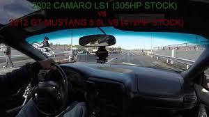 2012 mustang vs camaro 2002 camaro z28 ls1 vs 2012 mustang 5 0l v8