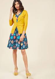 honey clothing charter school cardigan in honey modcloth