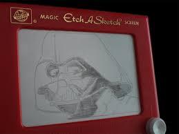 etch a sketch darth vader by brianladouceur on deviantart
