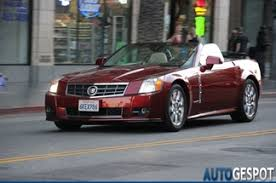 cadillac xlr platinum car spots worldwide hourly updated autogespot