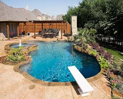 Backyard Pool Images by Freeform Pool Designs Mckinney Natural Pool Designs