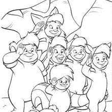 lost boys coloring pages hellokids