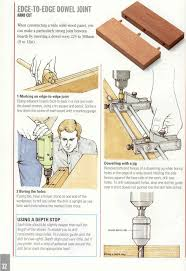 Woodworking Joints Plans by Edge To Edge Dowel Joint P 32 Joints Pinterest Wood Joints