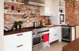 antique brick kitchen red brick kitchen backsplash 492 x 320