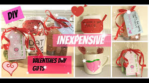 Best Valentine Gifts by Diy Inexpensive Valentines Day Gifts To Boyfriend Girlfriend Best