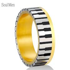does the woman buy the s wedding band aliexpress buy 7mm wide men women s gold color piano