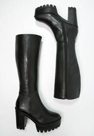 womens boots myer smith heeled boots pacey high black
