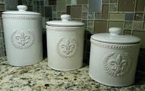 fleur de lis canisters for the kitchen fleur de lis kitchen canisters decorative canister set 1 metal fleur