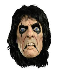 latex halloween mask kits alice cooper mask licensed merchandise alice cooper horror