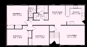 raised ranch floor plans raised ranch floor plans 1 404 to 1 705