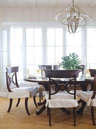 Slip Covers For Dining Room Chairs 86 Best Chair Skirts Images On Pinterest Chairs Dining Chairs