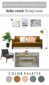 Petite Furniture Living Room by Interior Inspiration Boho Rustic Living Room With Mid Century