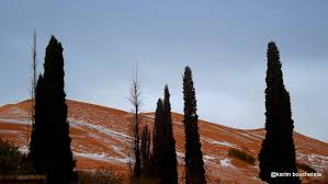 photos of freak snowfall in the sahara look unreal gizmodo australia