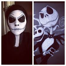 Jack Skellington Halloween Costume Kids 1846 Face Painting Images Halloween Makeup