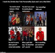 Red Shirt Star Trek Meme - zimbio star trek quiz imgflip