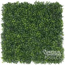 artificial hedge panels 100cm x 100cm uv protected lifelike