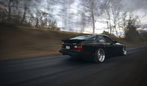 porsche 944 black скачать обои скорость porsche дорога black порше черный 944