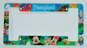 sdsu alumni license plate frame disneyland resort license plate frame disney parks exclusive