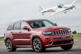 jeep srt jeep grand cherokee srt vs plane which one wins auto express