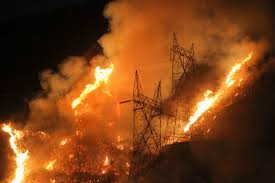 Wildfire California 2016 by Massive Wildfire East Of Los Angeles Is Still Raging