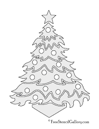 free printable christmas ornaments stencils christmas tree stencil 12 free stencil gallery