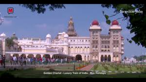 golden chariot luxury train of india max holidays youtube